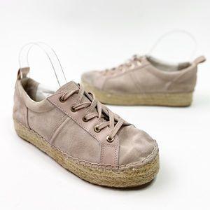 Sam Edelman Carleigh Pink Espadrille Sneaker